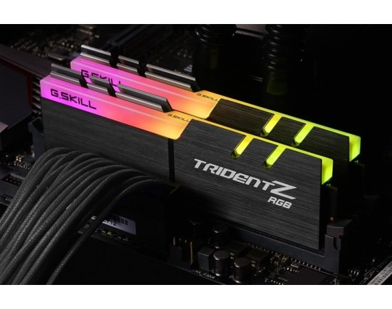 G.SKILL Pamięć DDR4 16GB (2x8GB) TridentZ RGB for AMD 3200MHz CL16 XMP2