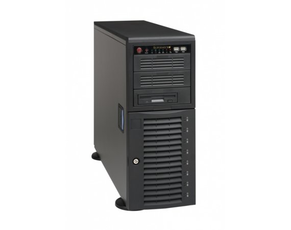 Supermicro Obudowa CSE-743T-665B tower/4U
