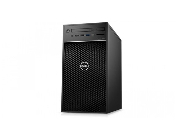 Dell Stacja robocza Precision T3630 MT i5-8500/8GB/256GB/Intel UHD/DVD RW/W10Pro/KB216/MS116/vPRO/3Y NBD