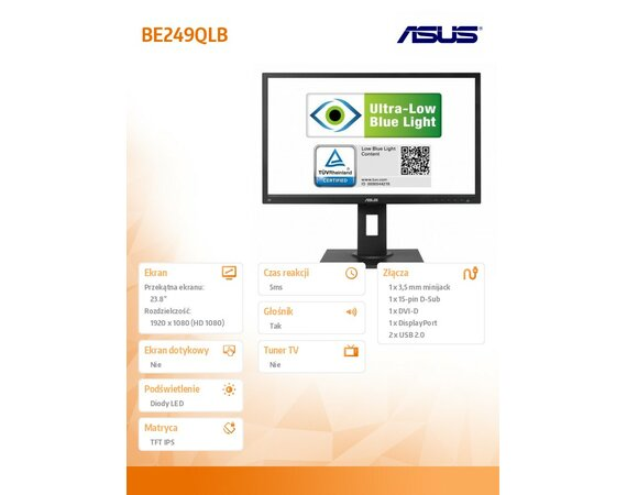 Asus 23.8'' BE249QLB