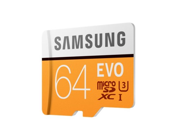 Samsung MB-MP64GA/EU 64 GB EVO mSD + Adapter
