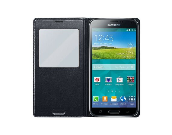 Samsung S-View Cover Galaxy S5 charcoal Black