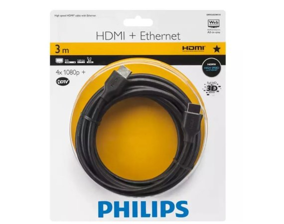 Philips Kabel HDMI Ethernet 3 metry
