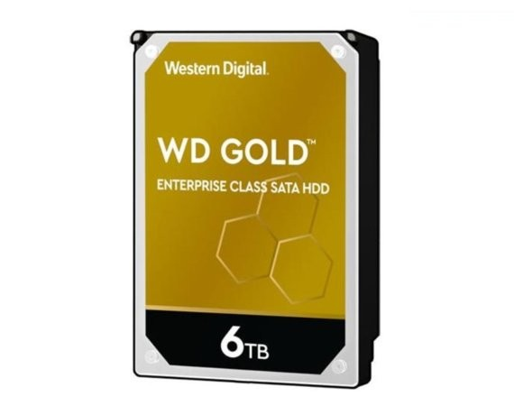 "Western Digital HDD Gold Enterprise 6TB 3,5"" 256MB SATAIII/7200rpm"