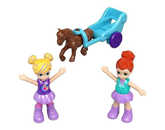 Figurki Polly Pocket Pozytywka Tiny Twirlin