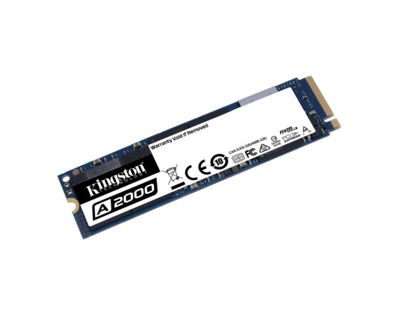 Kingston Dysk SSD A2000 250GB M.2 2280 PCI-e NVMe 2000/1100MB/s