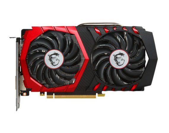 MSI GeForce GTX 1050 Ti Gaming X 4G DDR5 128BIT DVI-D/HDMI/DP