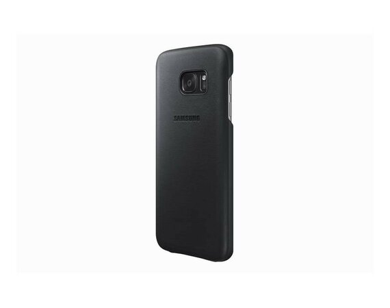Samsung Leather Cover Galaxy S7 Black