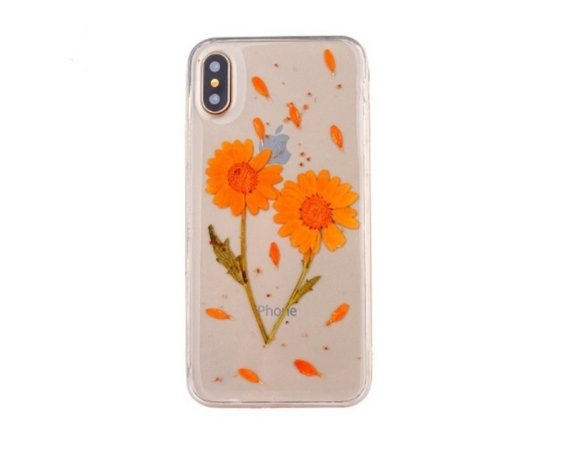 Beline Etui Flower iPhone X wzór 1