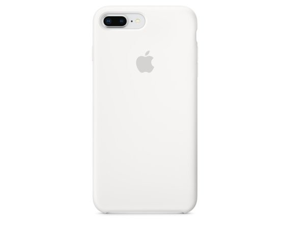 Apple iPhone 8 Plus / 7 Plus Silicone Case - White