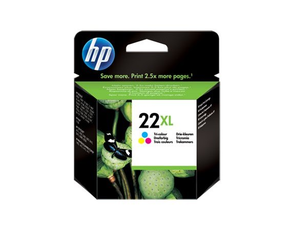 HP Inc. Tusz nr 22 Kolor XL C9352CE