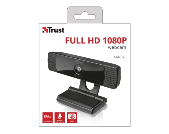 Trust Macul Full HD 108 0 Kamera internetowa