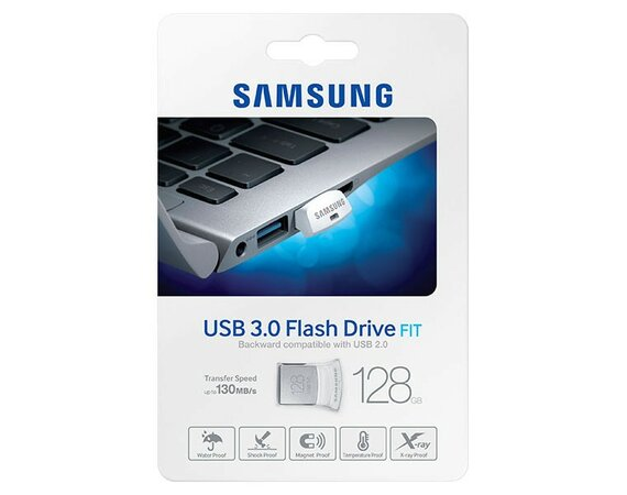Samsung FIT USB3.0 Flash Drive 128GB MUF-128BB/EU