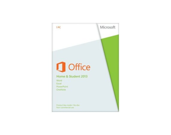 Microsoft Office Home & Student 2013 ENG 32-bit/x64 Medialess 79G-03549