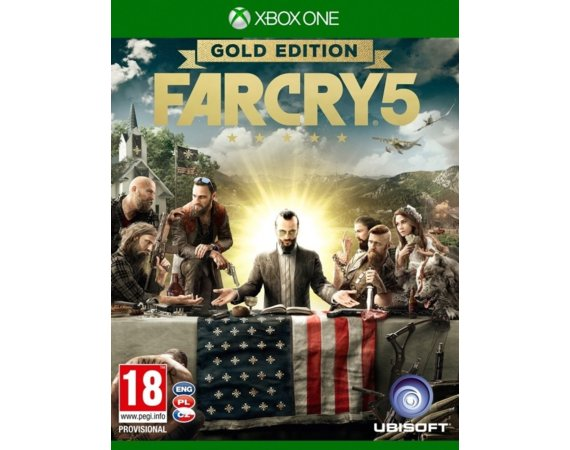 UbiSoft Gra Xbox One Far Cry 5 Gold Edition