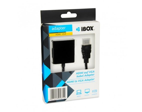 iBOX Adapter HDMI-VGA IAHV01