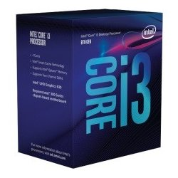 Intel CPU INTEL Core i3-8100 BOX 3.60GHz, LGA1151