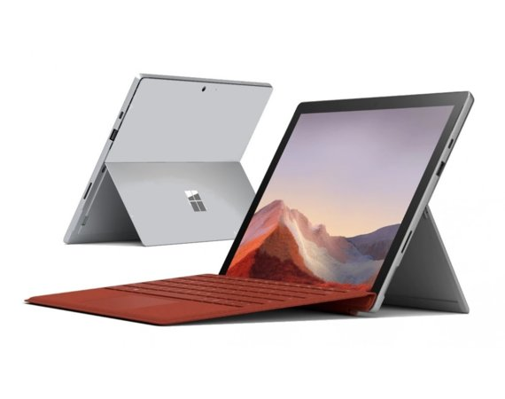 Microsoft Surface Pro 7 Platinium 256GB/i5-1035G4/8GB/12.3 Commercial PVR-00003