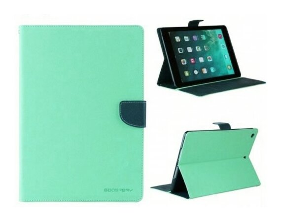 "Mercury Etui Fancy Galaxy Tab S 8.4"" miętowo/granatowe T700, notes"