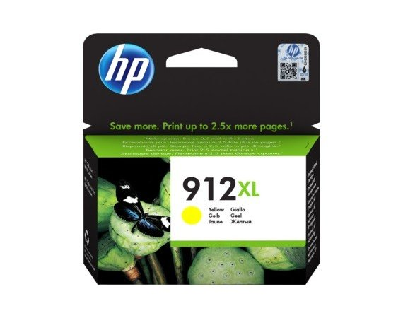 HP Inc. Tusz 912XL Yellow Ink 3YL83AE