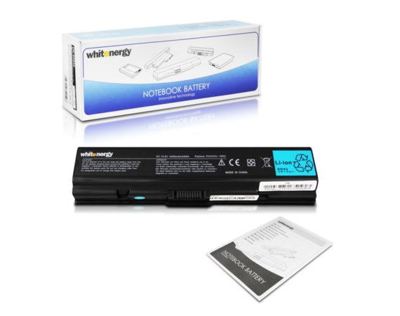 Whitenergy Bateria do laptopa Toshiba Satellite 10.8-11.1V 4400mAh czarna