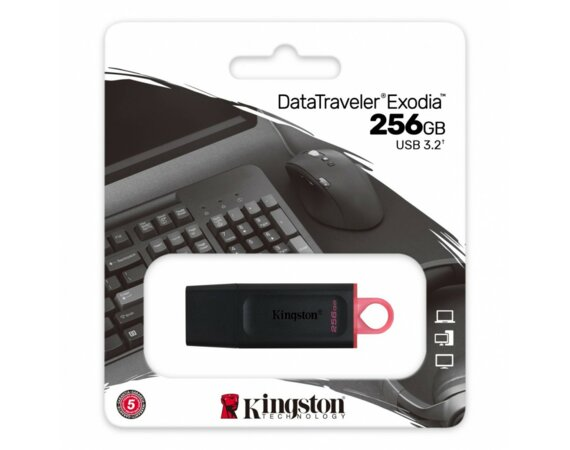 Kingston Pendrive Data Traveler Exodia 256GB USB3.2 Gen1
