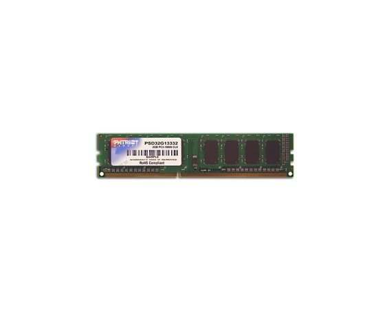 Patriot DDR3 2GB Signature 1600MHz CL11
