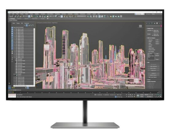 HP Inc. Monitor Z27u G3 QHD Display USB-C 1B9X2AA