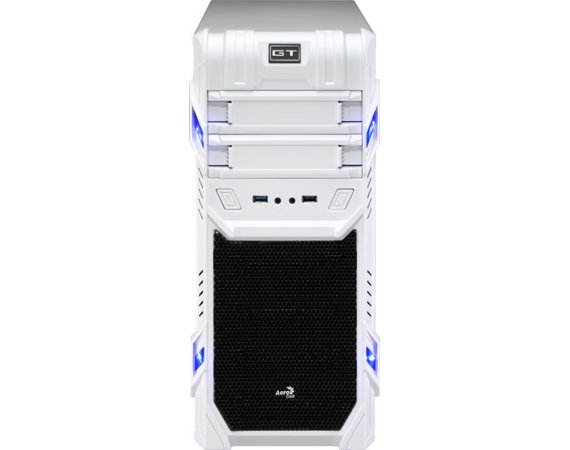 AeroCool GT ADVANCE WHITE/USB3/Obudowa ATX