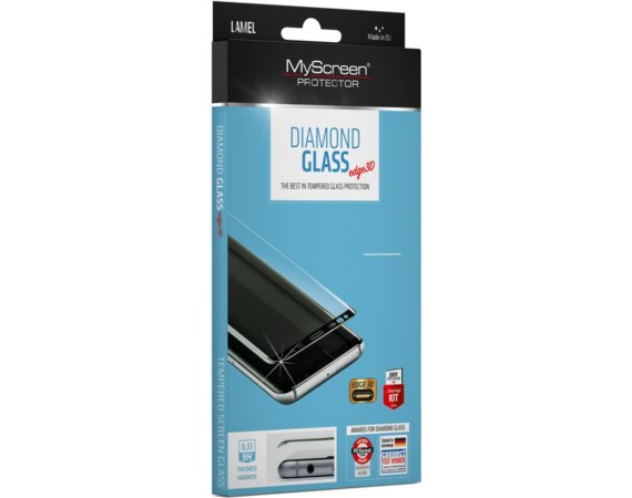MyScreen Protector  Diamond Edge 3D Szkło do Samsung S9 G960 Czarne