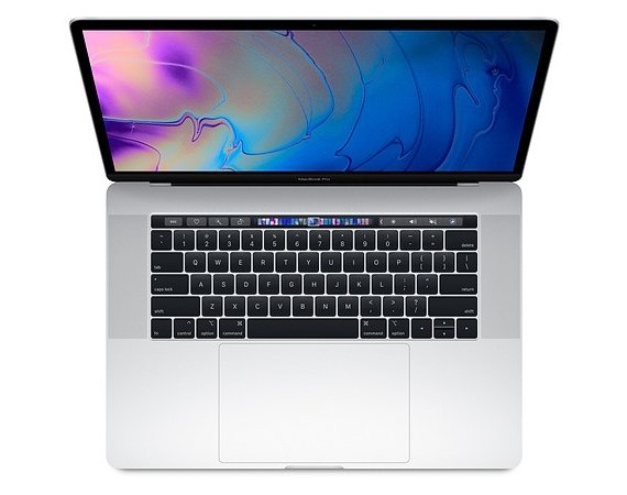 Apple MacBook Pro 15 Touch Bar. 2.3GHz i9/16GB/512GB/RP560X - Silver