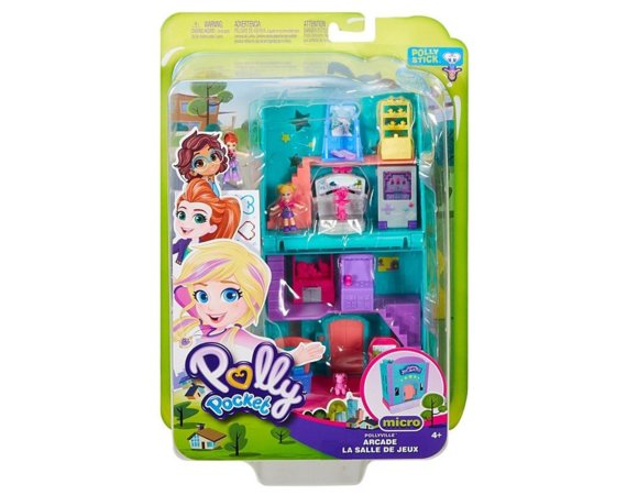 Zestaw figurek Polly Pocket Pollyville Arcade