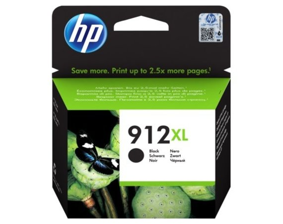 HP Inc. Tusz 912XL Black Ink 3YL84AE