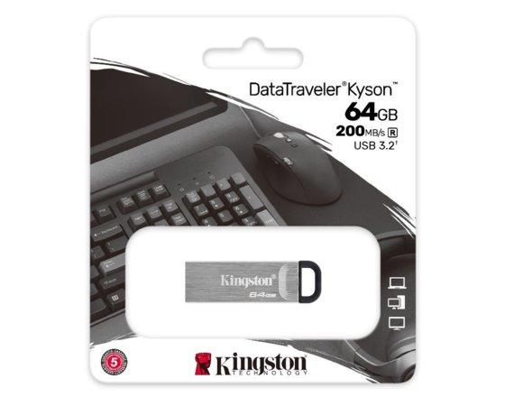 Kingston Pendrive Kyson DTKN/64G USB 3.2 Gen1