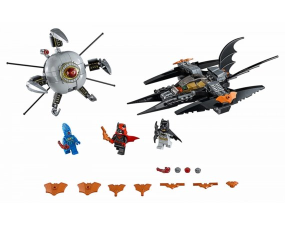 LEGO Klocki Super Heroes Batman Pojedynek z Brother Eye 76111
