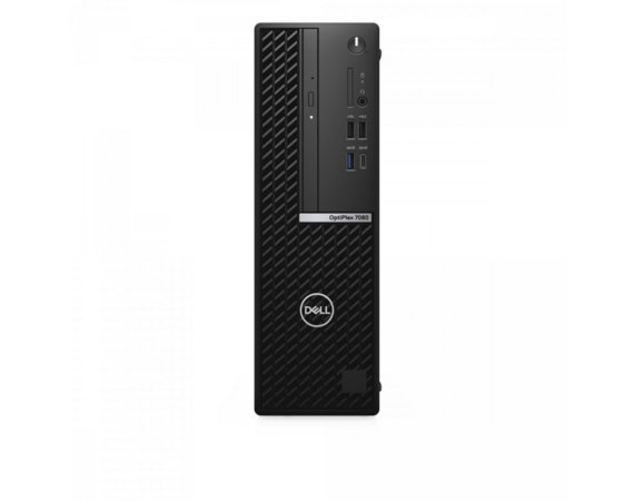 Dell Komputer Optiplex 7080 SFF/Core i7-10700/8GB/256GB SSD/Integrated/DVD RW/Wireless Kb & Mouse/W10Pro