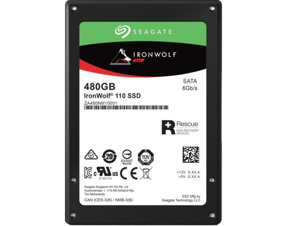 Seagate Dysk IronWolf SSD 480GB ZA480NM10011