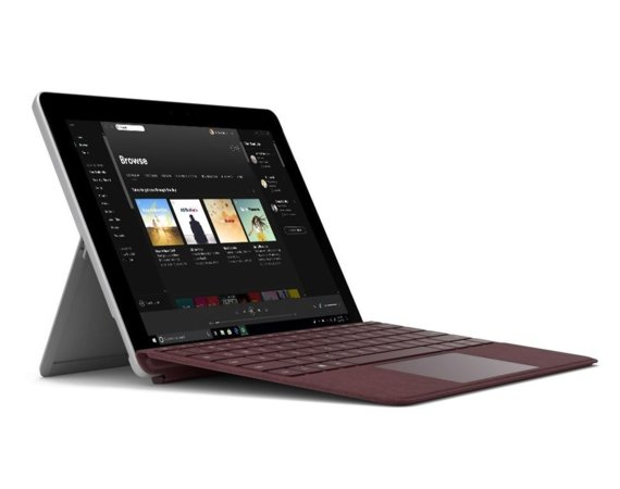 Microsoft Surface GO 4415Y/8GB/128GB/HD615/10' Win10Pro Commercial Silver JTS-00004