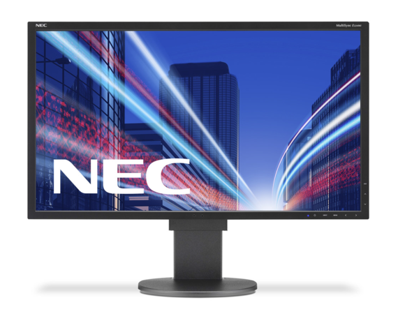 NEC Monitor 21.5 LCD E224Wi bk IPS 1920x1080 DVI-D, DisplayPort, W-LED