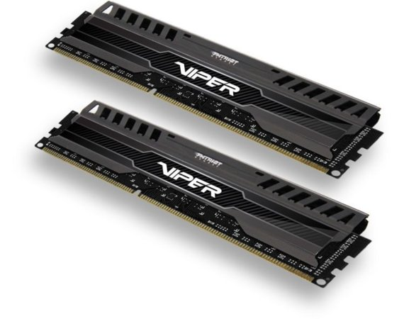 Patriot DDR3 8GB (2x4GB) Viper 3 1600MHz CL9 XMP