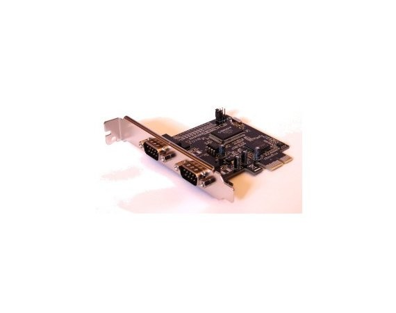 Unitek Kontroler PCI-E - 2x RS232 , Y-7504
