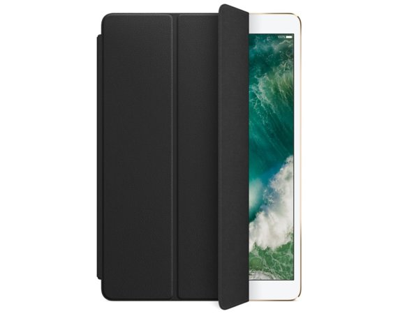 Apple iPad Pro 10.5 Leather Smart Cover - Black
