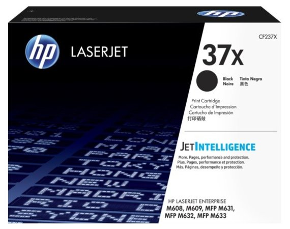 HP Inc. Toner HP 37X Black 25k CF237X