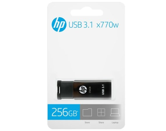 HP Inc. Pendrive 256GB USB 3.1 HPFD770W-256
