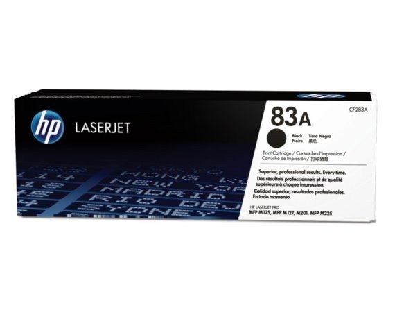 HP Inc. Toner 83A Black 1.5k CF283A