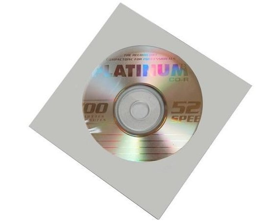 Platinum Poland CD-R PLATINUM 700MB 52x KOPERTA 1szt.