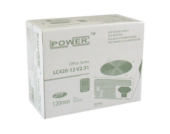 LC-POWER ZASILACZ 350W LC420-12 V2.31 80+ BRONZE