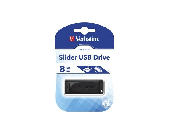 Verbatim Slider 8GB Black