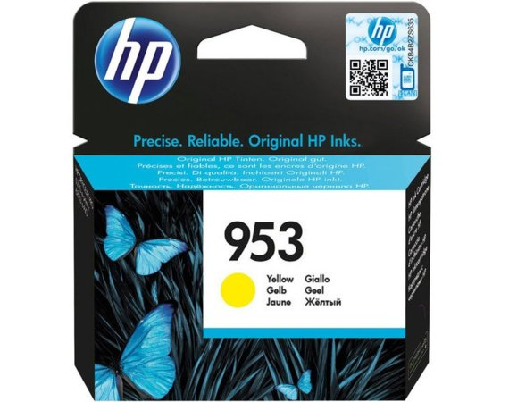 HP Inc. Tusz nr 953 Yellow F6U14AE
