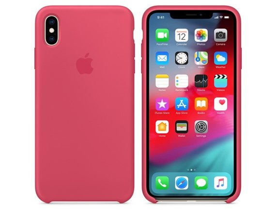 Apple Silikonowe etui do iPhonea XS Max - hibiskus